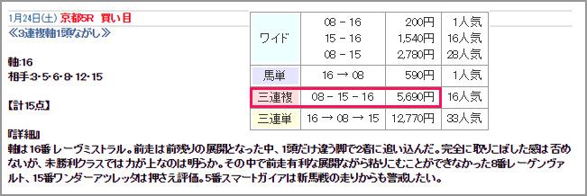 1/24ベストレコード無料情報